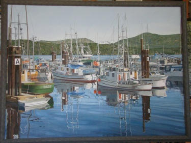Fishing Boats, Cowichan Bay