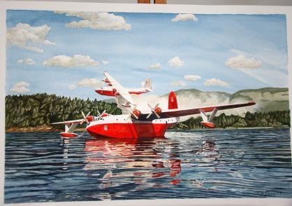 Martin Mars water bombers