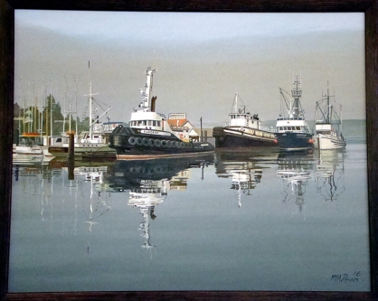 Nanaimo Shipyard Dock
