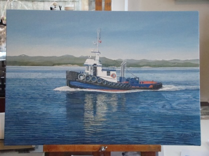 Mercury Tug, Ocean Gordon