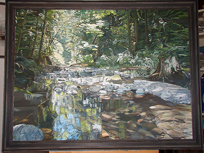 Holland Creek in summer small