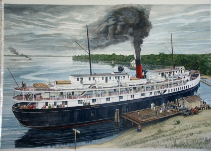 Steamship Carolina