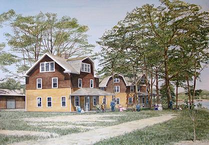 Old Lodge, White Lake, Michigan