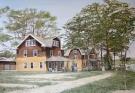 Old Lodge White on Lake Michigan