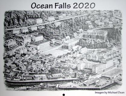 Ocean Falls 2020 calendar