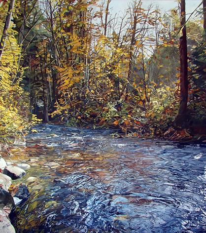 Holland Creek in Fall